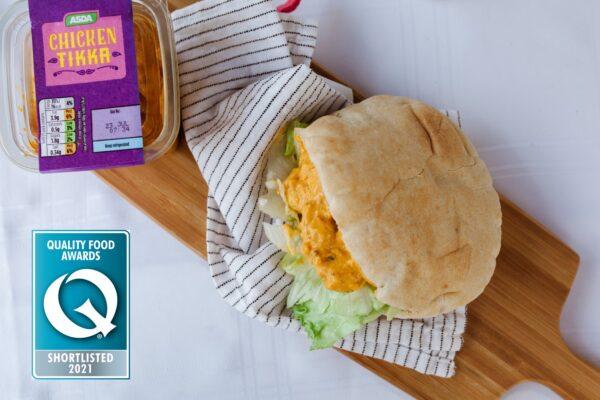 Asda Chicken Tikka Deli Filler Shortlisted for a Q Award