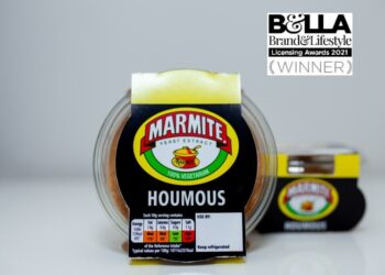 Marmite Houmous wins at the Brand & Licensing Awards!