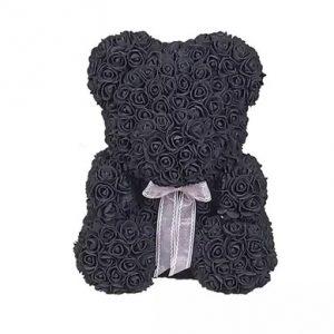 Big Black Rosette Bear