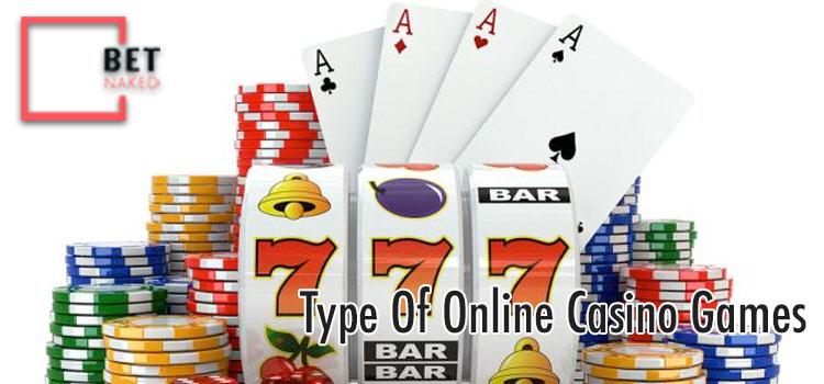 Type Of Online Casino Games