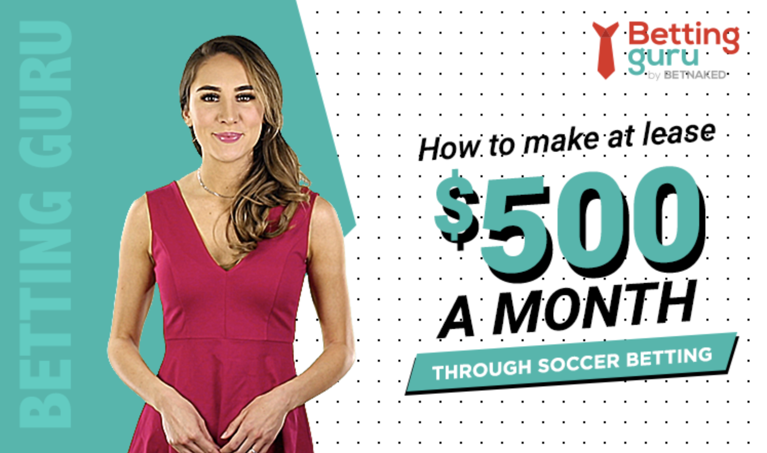 How to make at least 500 a month through soccer betting blog featured image