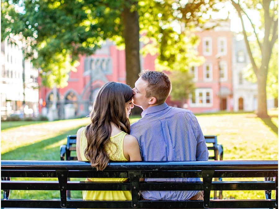 Shelby & Mitch {Downtown Cincinnati Engagement Photo Session}