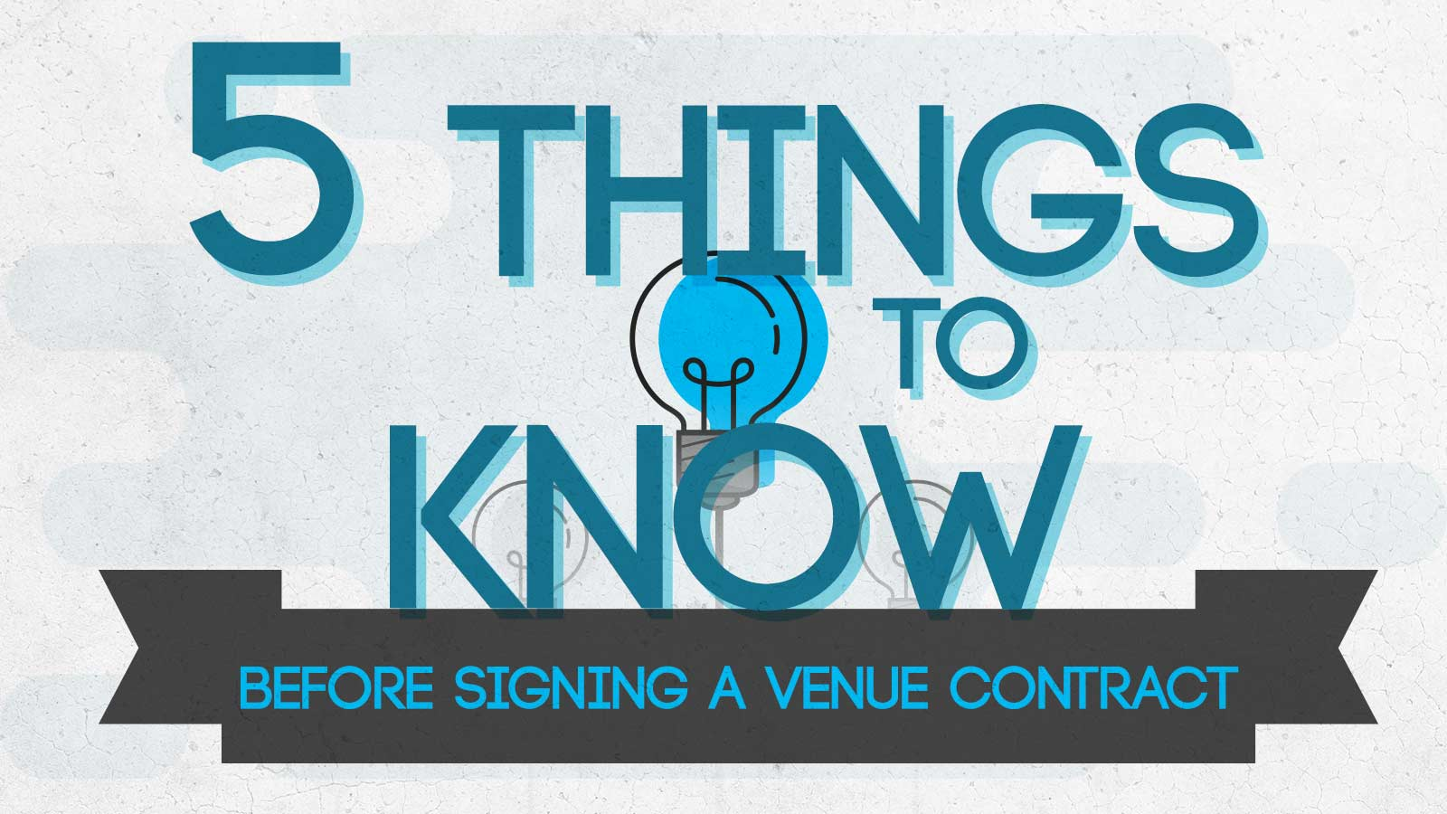 5 Things to Know Before Signing a Venue Contract