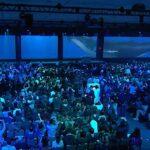 Google I/O Widescreen Whale Audio-Visual Experience