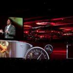 Nissan Conference Widescreen Medium Shot Delay Screen
