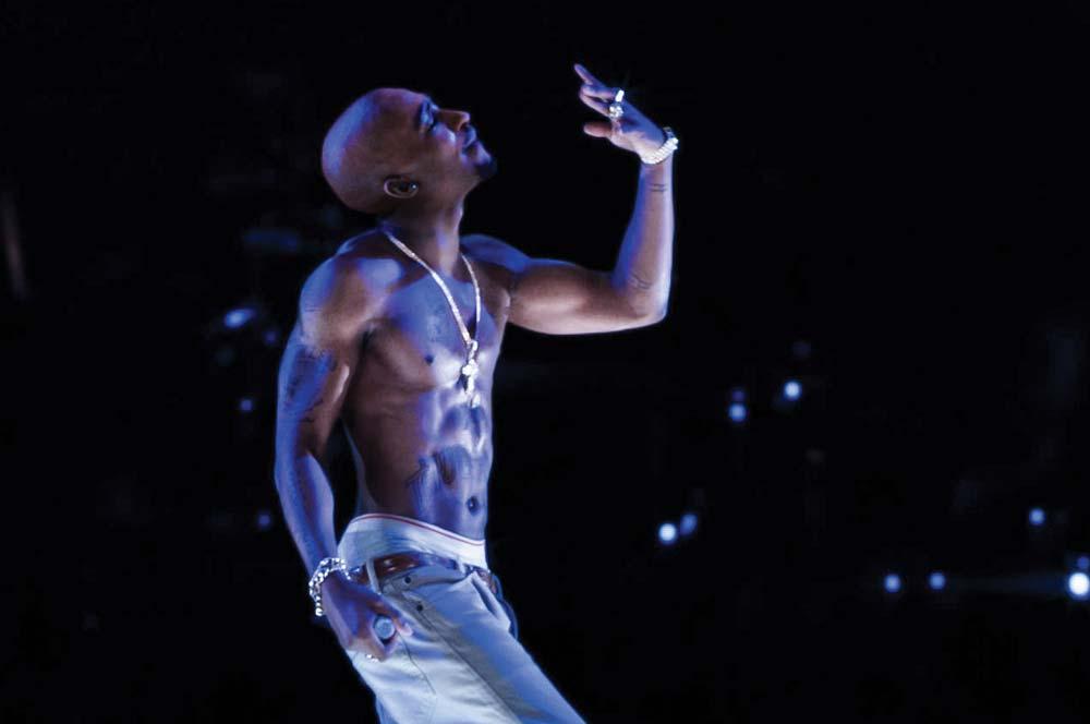 Tupac Shakur Holographic Performance