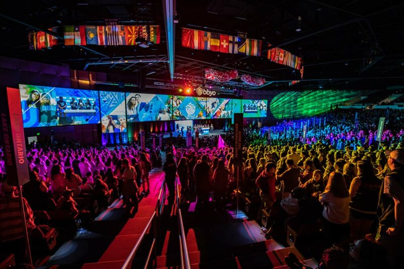 BBYO General Session Audio-Visual Experience
