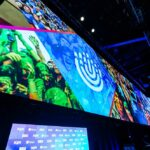 BBYO General Session Stage Screen Up Close