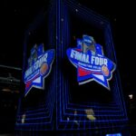NCAA Final Hour Engagement Projection Mapping Scrim