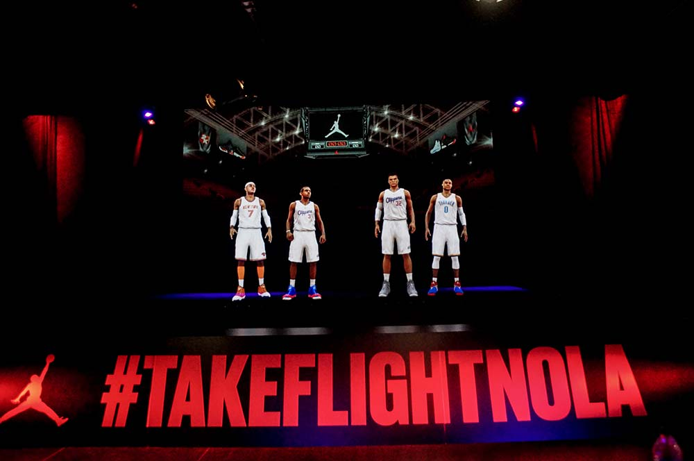 Nike Brand Activation AV Concepts Holographic Experience