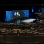 SuperComputing SC Conference General Session Curved Screen New Orleans