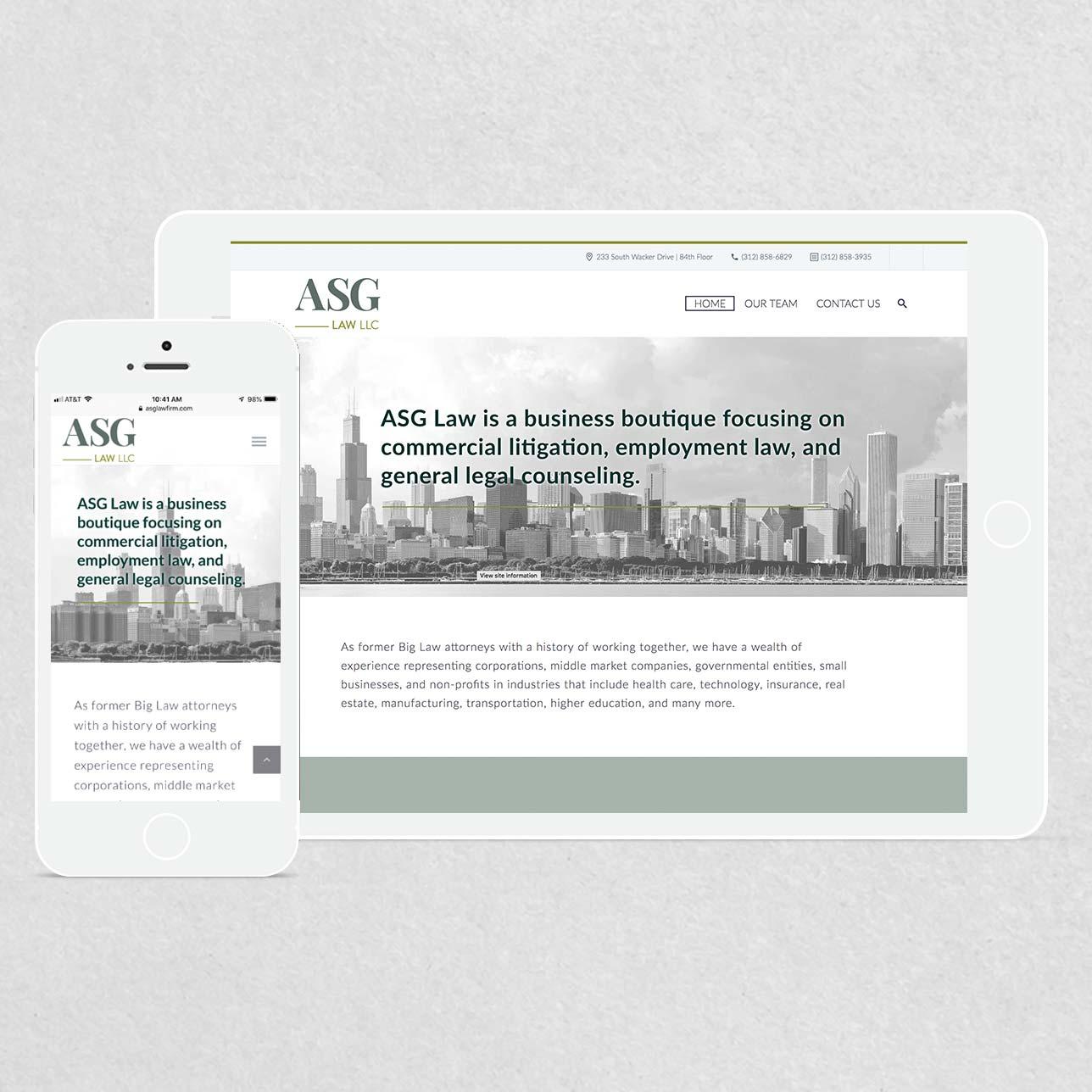 ASG Law Identity set