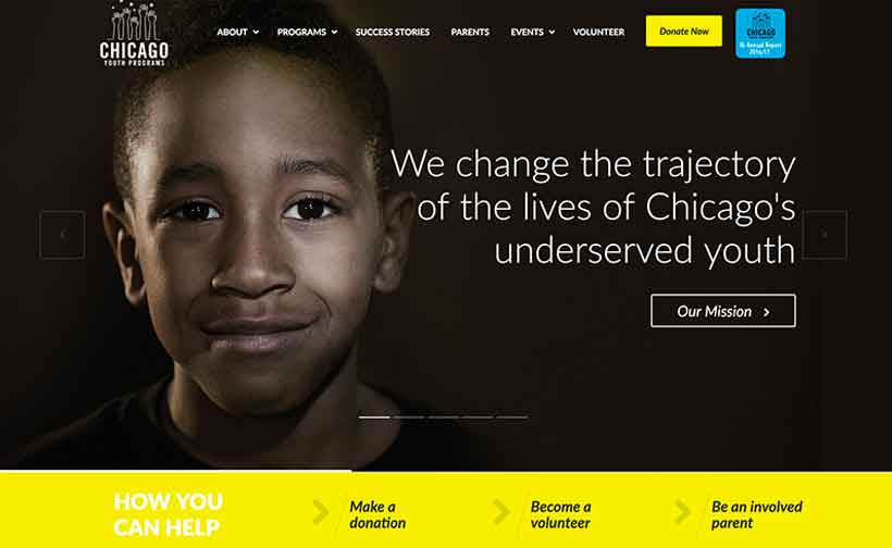 Chicago Youth Programs Home page