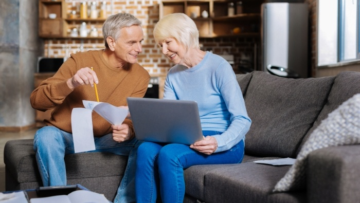 Financial Paperwork and Elderly Parents photo