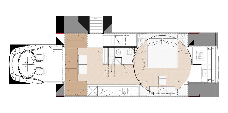 eleMMent MONACO Floorplan