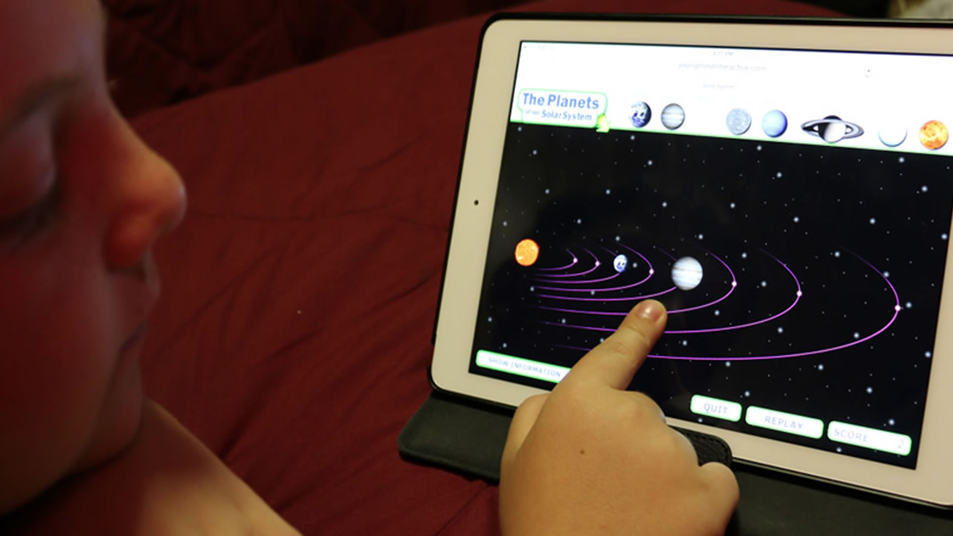 "Play ""Our Solar System"""
