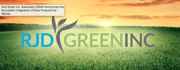 RJD Green Corporate Website