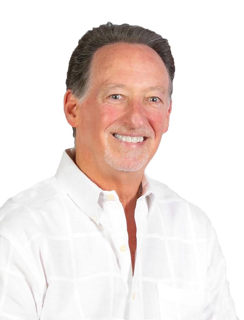 Photograph of Gary Blumberg in white shirt