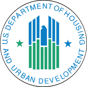 US Depertment of Housing and Urban Development logo