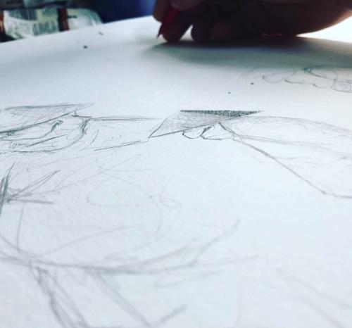 Haduko Book Illustrations - WIP