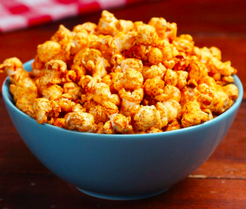 BBQ Popcorn, A Savory Movie Night Snack!