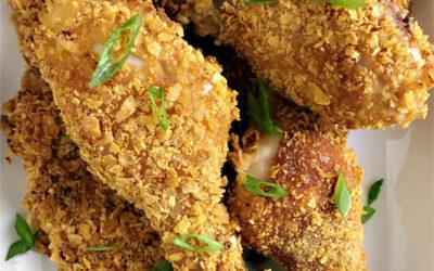 Cornflake Fried Chicken, Comfort Food in Your Own Kitchen!