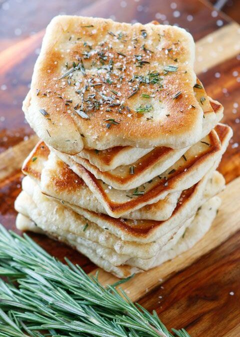 Rosemary Mozzarella Flatbread