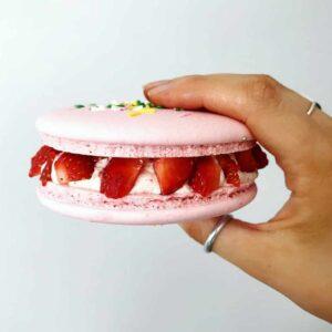 customised orders strawberries