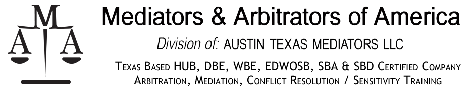 Mediators and Arbitrators of America Logo