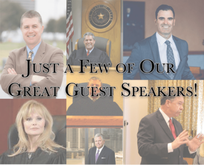 Image showing guest speakers at MAA classes
