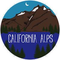 California Alps Bike Rides emblem