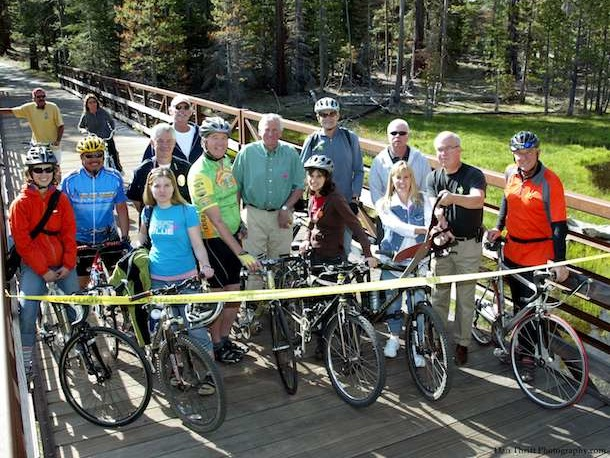 Bike Tahoe Ribbon Cutting Dan Thrift Photography