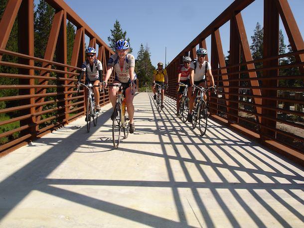 Bike Tahoe Enjoying the bike Ride in Lake tahoe