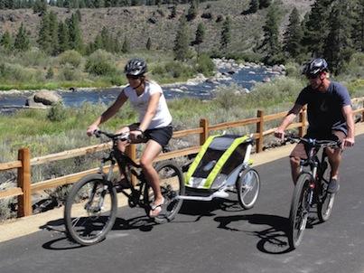 Lake Tahoe's Top 10 Bike Rides: Truckee River Legacy Bike Path