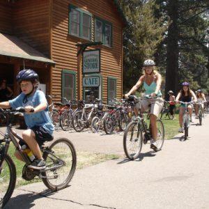 Camp Richardson Lake Tahoe Bike Path