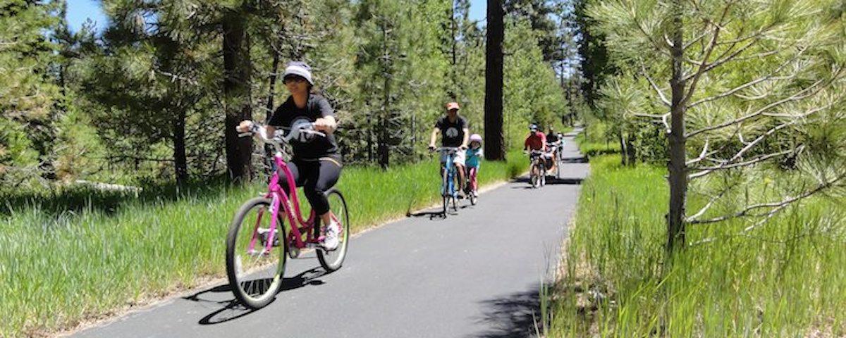 Ride Safely on Lake Tahoe Bike Paths