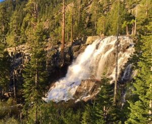 Eagle Waterfall is the most popular Lake Tahoe waterfall in the region.