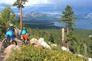 south lake tahoe mountain biking van sickle trail
