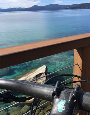 tahoe east shore trail lake views