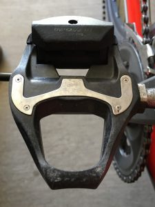 Clipless pedals are popular among road cyclists who like the added power of being connected to the pedals.