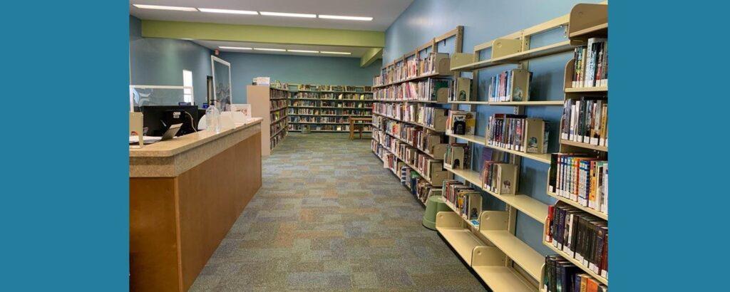 Parker Public Library Stacks