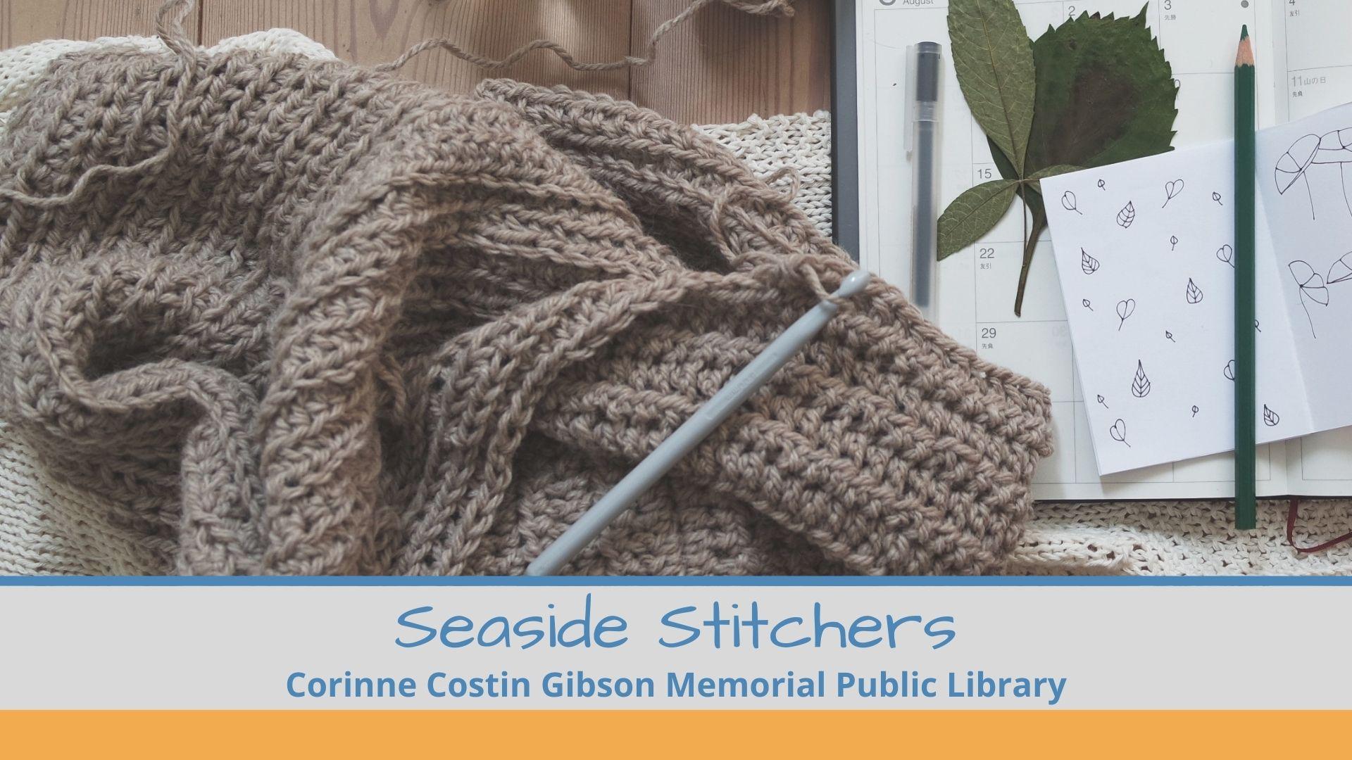 image of knitting sea side stitchers club