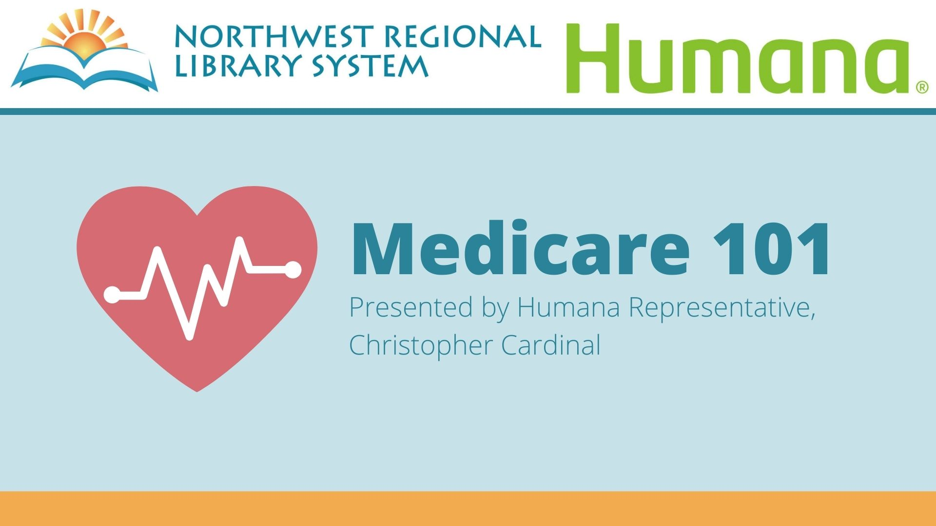 Medicare program presented by humana