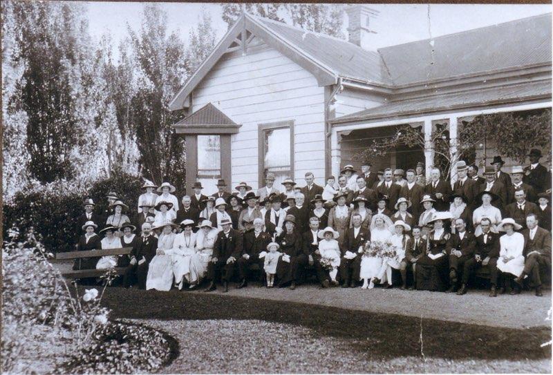 Fairweather gathering near Blenheim in New Zealand