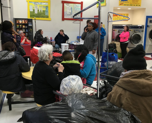 The Free Laundry Event on Wednesday March 2nd at Laundromania in Davenport, Iowa