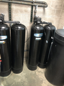 New Water Softeners at Laundromania in Coralville, Iowa