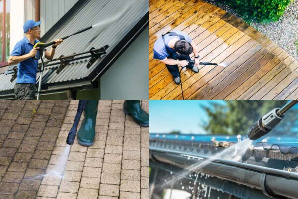 maryland power washing home business deck siding gutter concrete