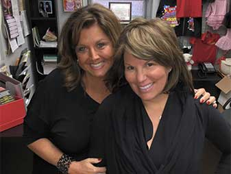 Abby Lee and Annette Vallone at Landrum 2015 Queens NY