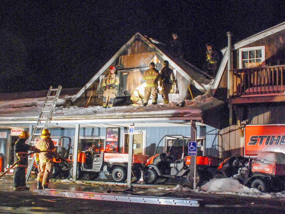 Bacon's Fire, Williamsburg, MA