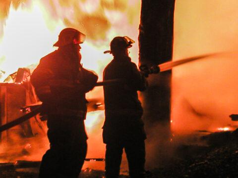 Rice Fire, Williamsburg MA